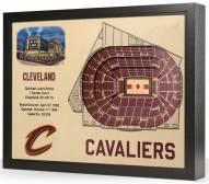 Cleveland Cavaliers 25-Layer StadiumViews 3D Wall Art