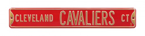 Cleveland Cavaliers Street Sign