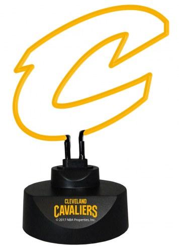 Cleveland Cavaliers Team Logo Neon Lamp