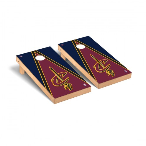 Cleveland Cavaliers Triangle Cornhole Game Set