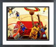 Cleveland Cavaliers Tristan Thompson NBA Finals Framed Photo