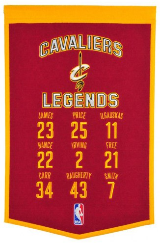 Cleveland Cavaliers Legends Banner