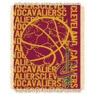 Cleveland Cavaliers Woven Jacquard Throw Blanket