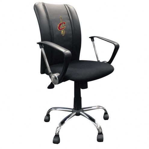 Cleveland Cavaliers XZipit Curve Desk Chair with Primary Logo