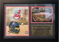 "Cleveland Indians 12"" x 18"" Photo Stat Frame"