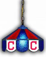 "Cleveland Indians 14"" Glass Pub Lamp"