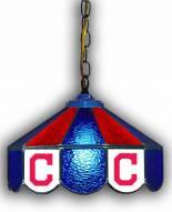 "Cleveland Indians 14"" Glass Pub Lamp"