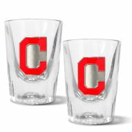 Cleveland Indians 2 oz. Prism Shot Glass Set