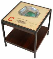 Cleveland Indians 25-Layer StadiumViews Lighted End Table