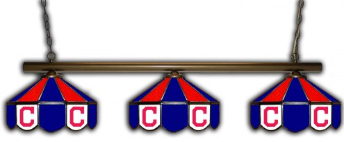 Cleveland Indians 3 Shade Pool Table Light
