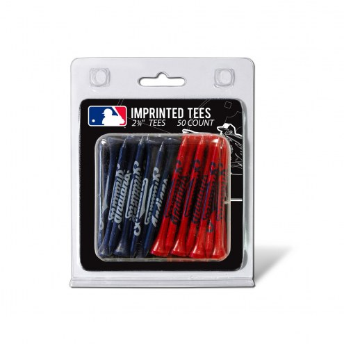 Cleveland Indians 50 Golf Tee Pack