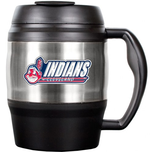 Cleveland Indians 52 Oz. Stainless Steel Macho Travel Mug