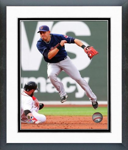 Cleveland Indians Asdrubal Cabrera Action Framed Photo