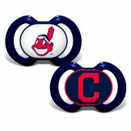 Cleveland Indians Baby Pacifier 2-Pack