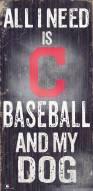 Cleveland Indians Baseball & My Dog Sign