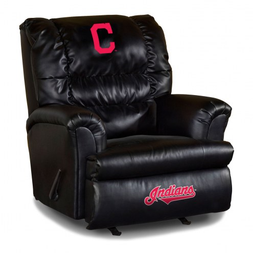 Cleveland Indians Big Daddy Leather Recliner