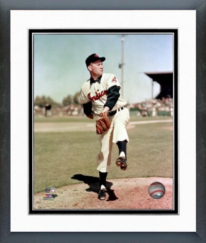 Cleveland Indians Bob Lemon Posed Framed Photo