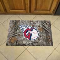 Cleveland Indians Camo Scraper Door Mat