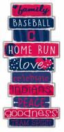 Cleveland Indians Celebrations Stack Sign