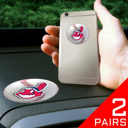 Cleveland Indians Cell Phone Grips - 2 Pack