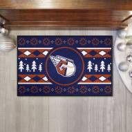 Cleveland Indians Christmas Sweater Starter Rug