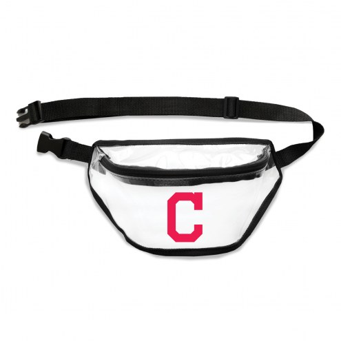 Cleveland Indians Clear Fanny Pack