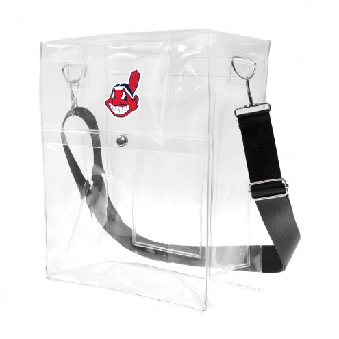 Cleveland Indians Clear Ticket Satchel