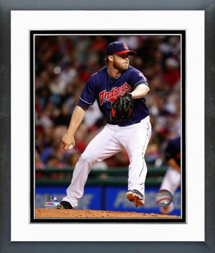 Cleveland Indians Cody Allen Action Framed Photo