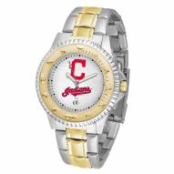 Cleveland Indians Competitor Two-Tone Men's Watch