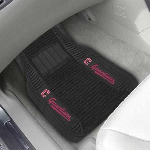 Cleveland Indians Deluxe Car Floor Mat Set