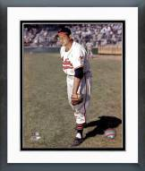 Cleveland Indians Early Wynn Posed Framed Photo