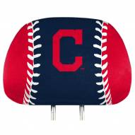 Cleveland Indians Full Print Headrest Covers