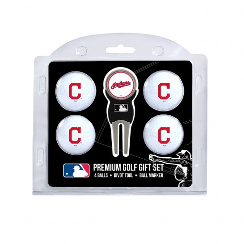 Cleveland Indians Golf Ball Gift Set