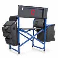 Cleveland Indians Gray/Blue Fusion Folding Chair