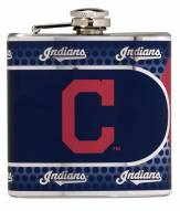 Cleveland Indians Hi-Def Stainless Steel Flask