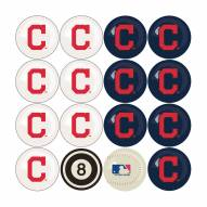 Cleveland Indians MLB Home vs. Away Pool Ball Set
