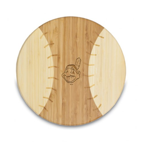 Cleveland Indians Homerun Cutting Board
