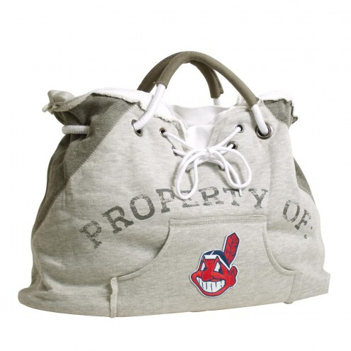 Cleveland Indians Hoodie Tote Bag