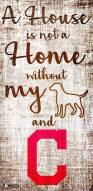 Cleveland Indians House is Not a Home Sign