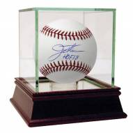 Cleveland Indians Jim Thome Signed MLB Baseball w/ HOF 2018