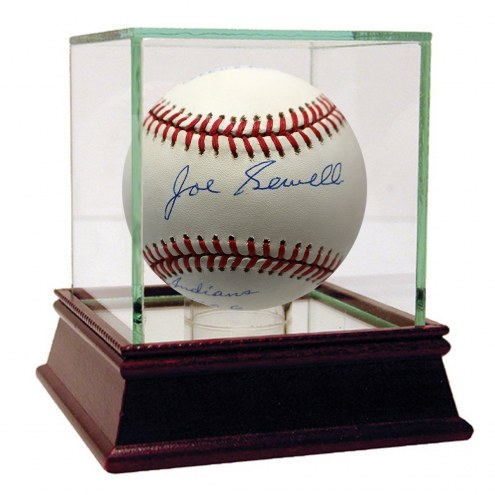 Cleveland Indians Joe Sewell Signed OAL Brown Baseball 1920-1930