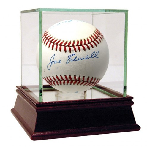 Cleveland Indians Joe Sewell Signed OAL Brown Baseball 1920 World Series