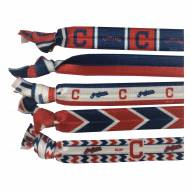 Cleveland Indians Knotted Hair Tie