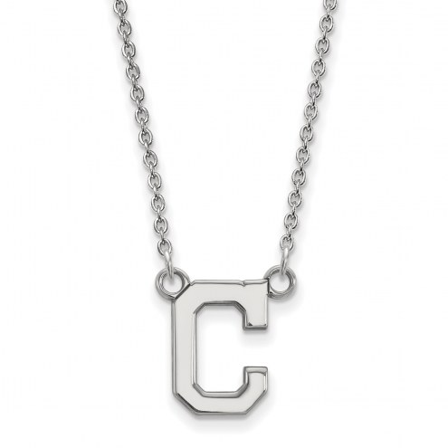 Cleveland Indians Sterling Silver Small Pendant Necklace