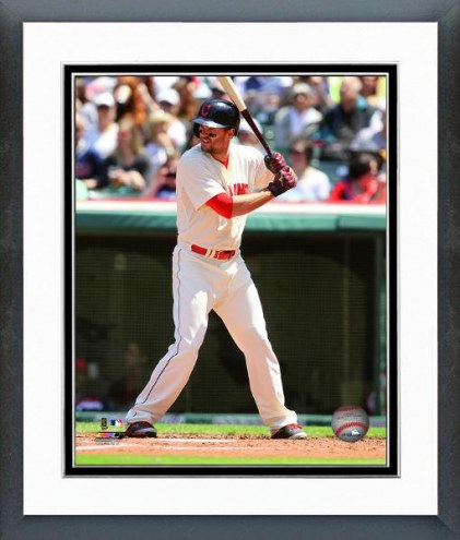Cleveland Indians Lonnie Chisenhall Action Framed Photo