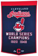 Cleveland Indians Major League Baseball Dynasty Banner