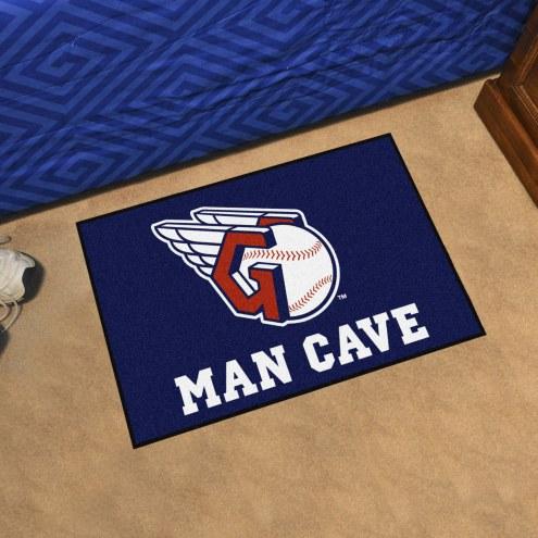 Cleveland Indians Man Cave Starter Mat