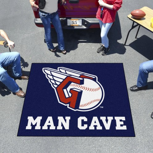 Cleveland Indians Man Cave Tailgate Mat