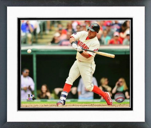 Cleveland Indians Michael Brantley Action Framed Photo