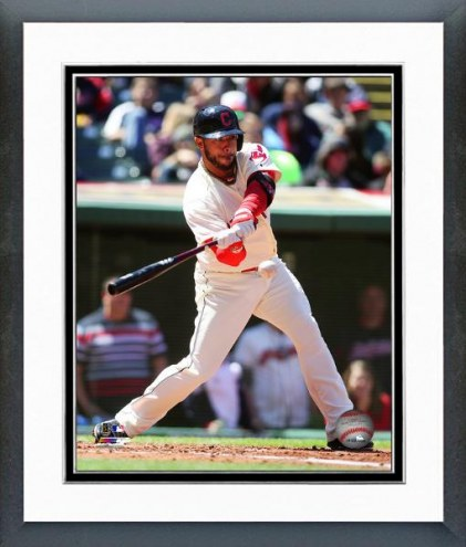 Cleveland Indians Mike Aviles Action Framed Photo